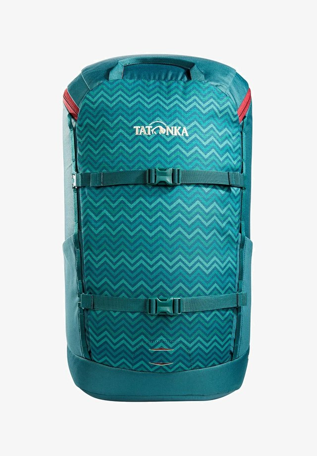 CITY PACK  - Rucksack - teal green zig zag