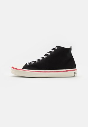 High-top trainers - black/lilywhite