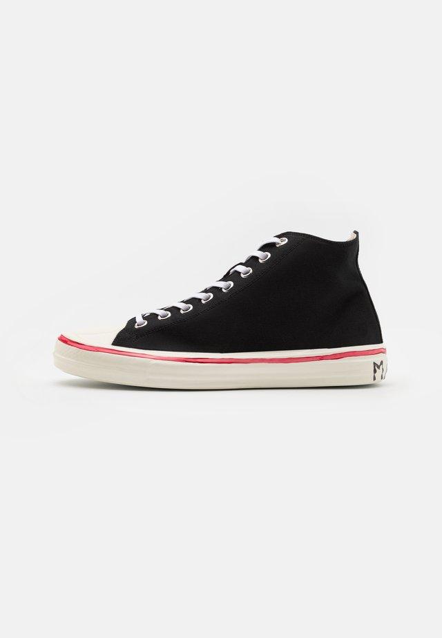 Sneakers hoog - black/lilywhite