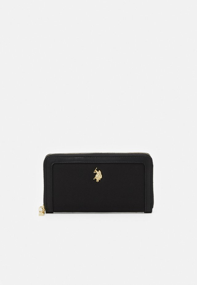 HOUSTON ZIP WALLET - Lommebok - black
