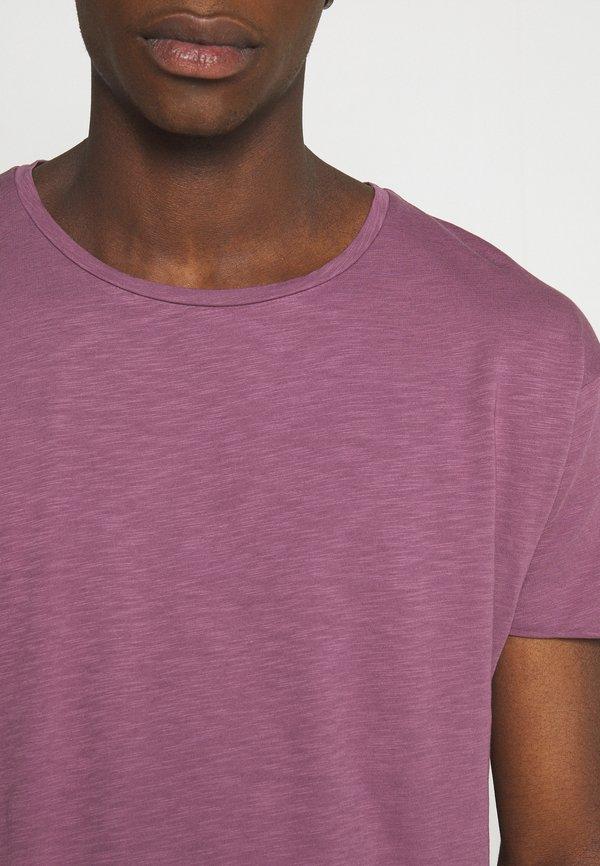 Nudie Jeans ROGER - T-shirt basic - violet/fioletowy Odzież Męska WLAR