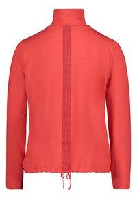 Betty Barclay - Zip-up sweatshirt - cayenne - 4
