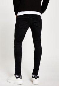 River Island - Jeans Skinny Fit - black - 2