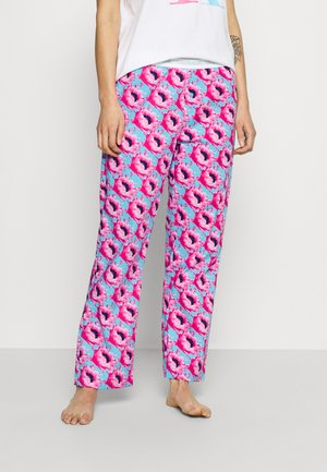 SLEEP PANT - Pyjamahousut/-shortsit - pink smoothie