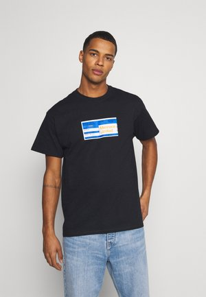 PRIDE TICKET UNISEX - Print T-shirt - black