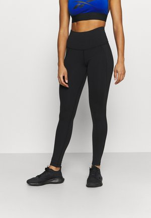 LUX HIGHRISE - Leggings - black