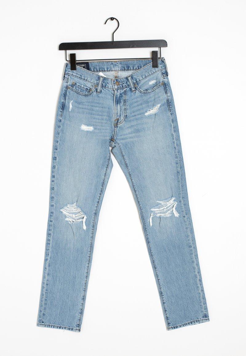 Abercrombie & Fitch - Straight leg -farkut - blue