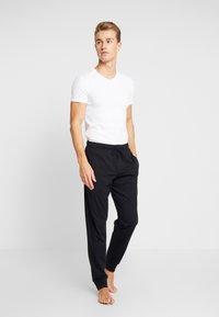 Schiesser - BASIC - Pyjama bottoms - black - 1