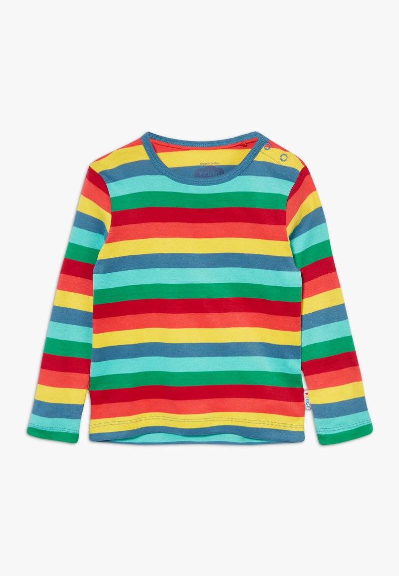 Frugi - EVERYTHING RAINBOW LONG SLEEVE  - Longsleeve - steely blue