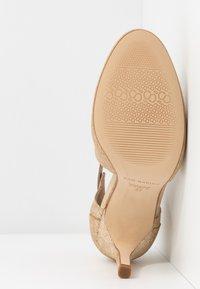 San Marina - AVISINO - High heeled ankle boots - gold - 6