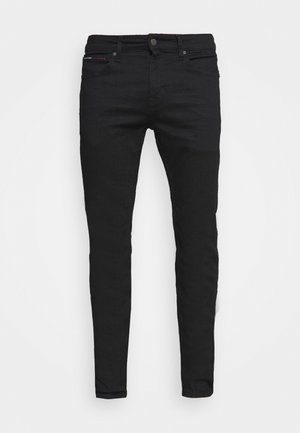 SCANTON SLIM - Slim fit jeans - new black stretch