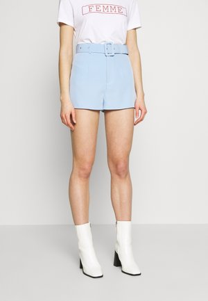 BELTED  - Shorts - baby blue
