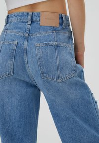 PULL&BEAR - Jeans Straight Leg - stone blue denim - 5
