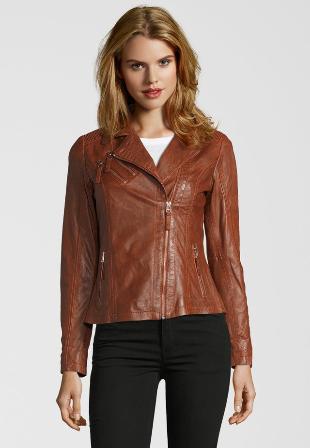 Leather jacket - meeru