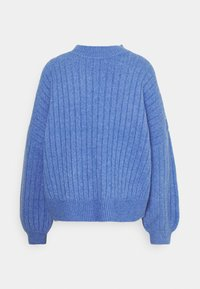 Even&Odd - OVERSIZED WIDE RIB JUMPER - Strikkegenser - light blue - 1