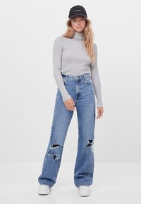 Bershka - Jumper - light grey - 1