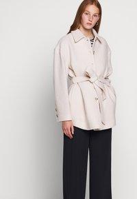 Filippa K - LIMA COAT - Short coat - ivory - 5
