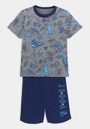 FUN FLIGHT TEE AND SHORT UNISEX - Tracksuit - blue void