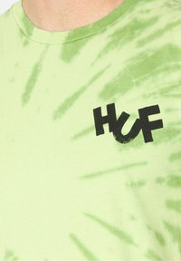HUF - HAZE BRUSH - Print T-shirt - lime - 3