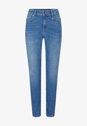 JULIE - Džíny Slim Fit - washed denim blue