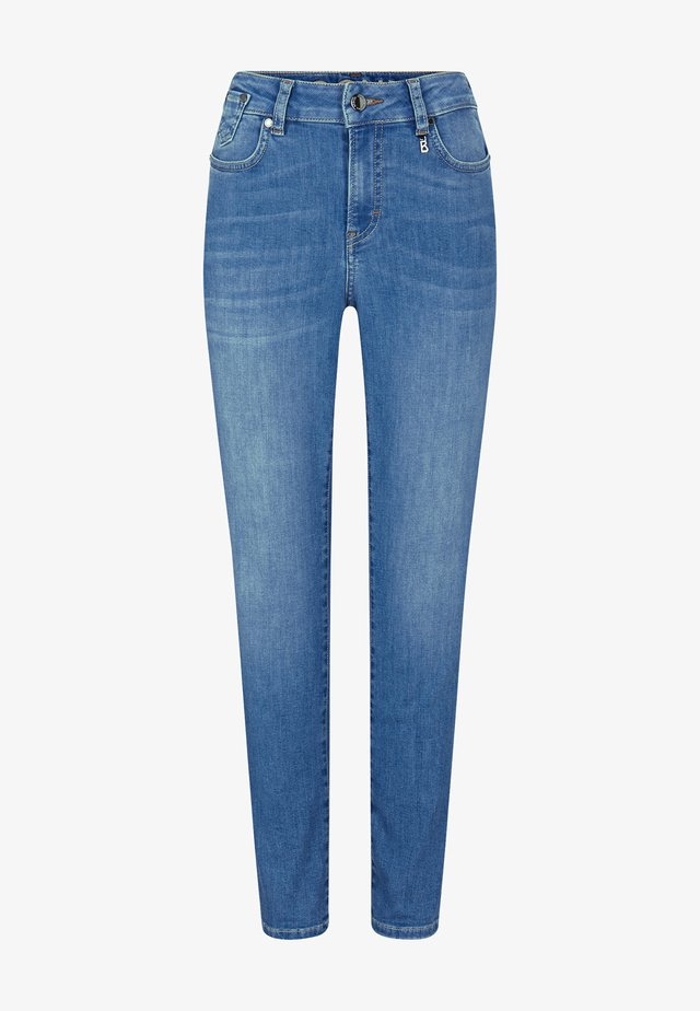 JULIE - Slim fit jeans - washed denim blue