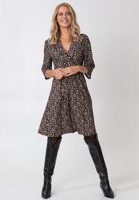 Indiska - SAY - Denní šaty - black - 0