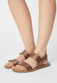 Timberland - CAROLISTA SLINGBACK - Sandals - medium brown - 0