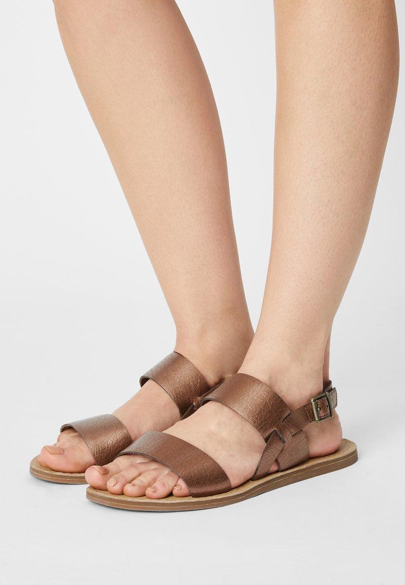 Timberland - CAROLISTA SLINGBACK - Sandals - medium brown