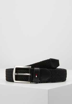 DENTON  - Braided belt - black