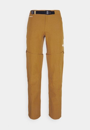 LIGHTNING CONVERTIBLE PANT  - Trousers - timber tan