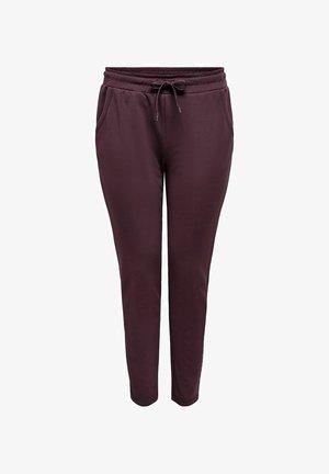 CURVY - Pantaloni sportivi - fudge