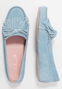 Pretty Ballerinas - MICROTINA CROSTINA - Mokkasiner - light blue - 3