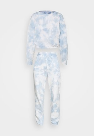 SWEAT & JOGGER TIE DYE SET - Sweatshirt - blue