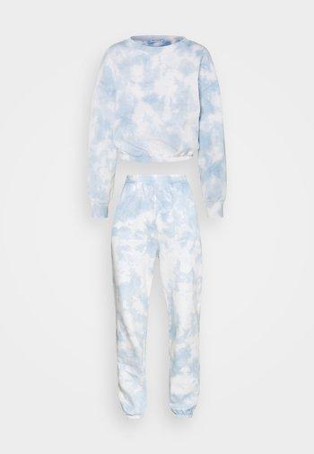 SWEAT & JOGGER TIE DYE SET - Sweatshirt - blue