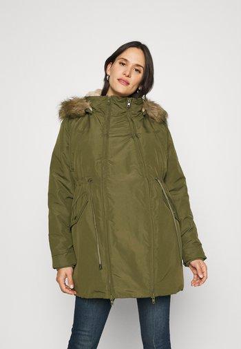 BABY CARRIER 3 IN 1 - Winter coat - olive