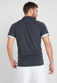 adidas Performance - Sports shirt - carbon/glow green - 2