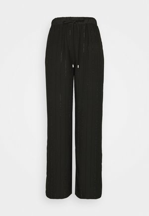CLARA PANTS - Trousers - jet black