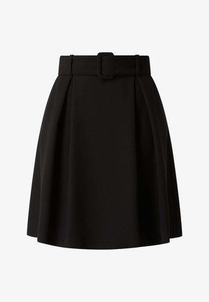 RIMIRAS - Pleated skirt - schwarz