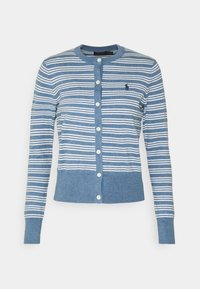 Polo Ralph Lauren - CLASSIC LONG SLEEVE - Chaqueta de punto - blue heather - 0