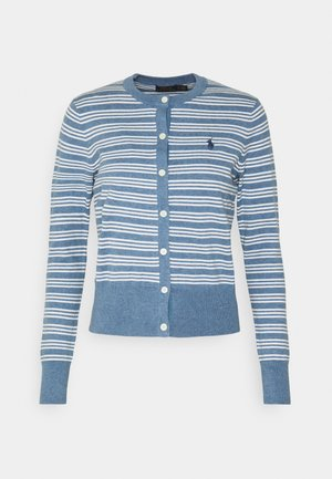 CLASSIC LONG SLEEVE - Strickjacke - blue heather