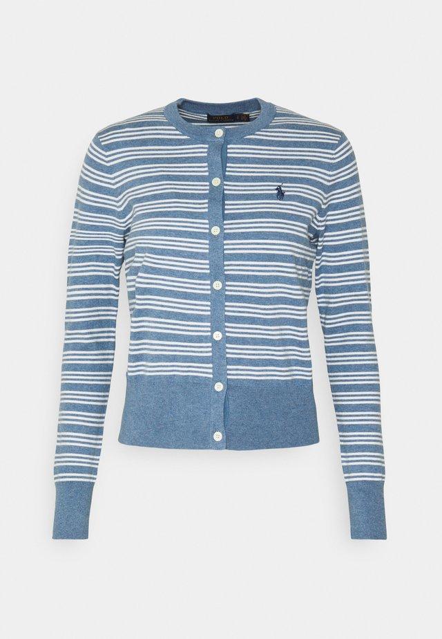 CLASSIC LONG SLEEVE - Cardigan - blue heather