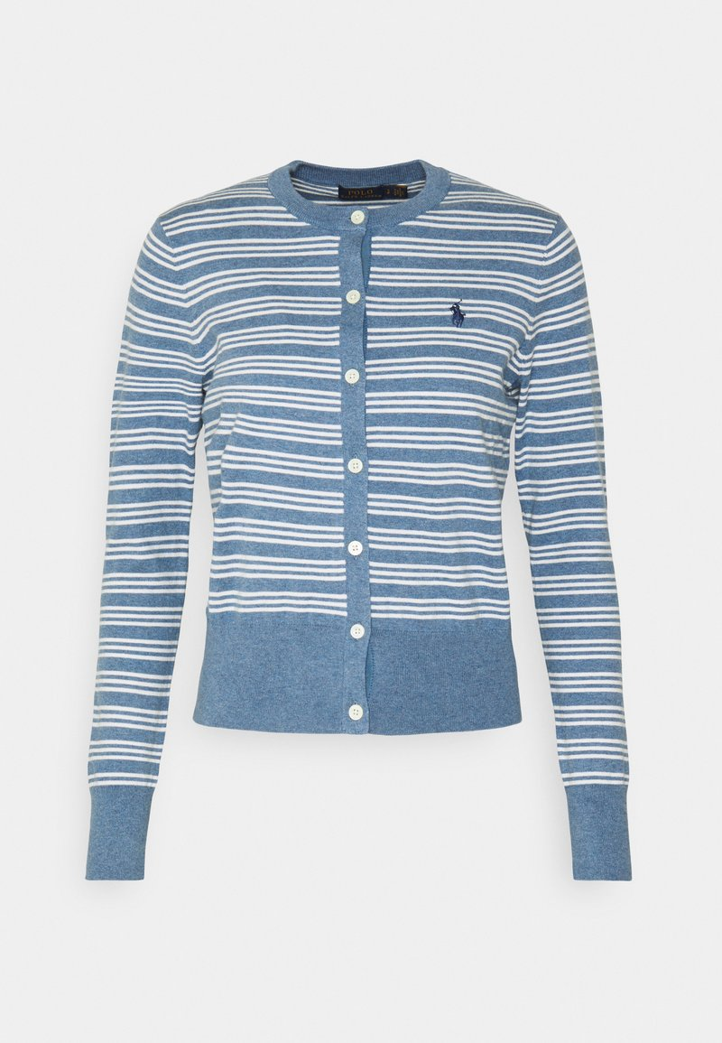 Polo Ralph Lauren - CLASSIC LONG SLEEVE - Chaqueta de punto - blue heather
