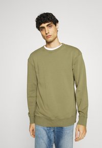 Selected Homme - SLHRELAXLUIS - Mikina - aloe - 0