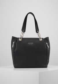 Guess - CHAIN TOTE - Tote bag - black - 4