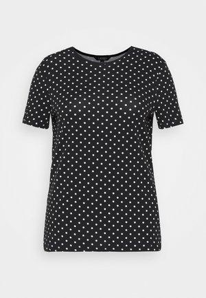 ALLI SHORT SLEEVE - Print T-shirt - black/white