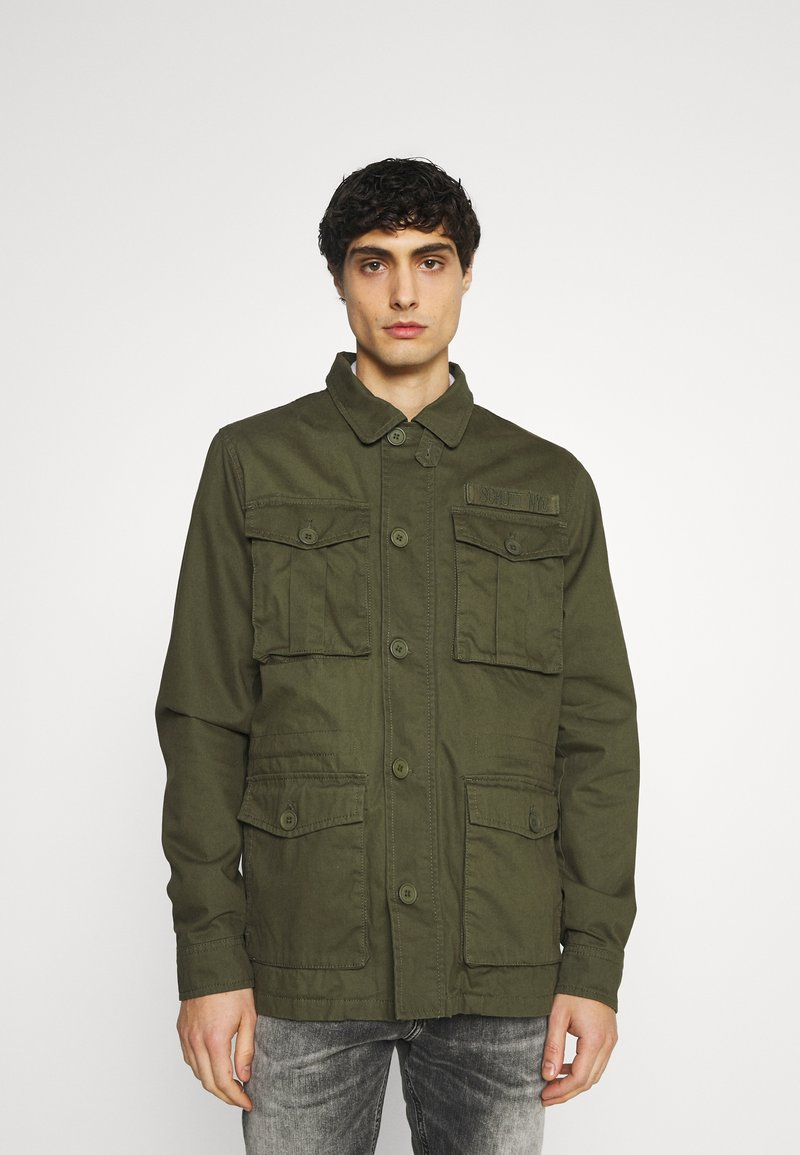 Schott - REDWOOD - Summer jacket - kaki
