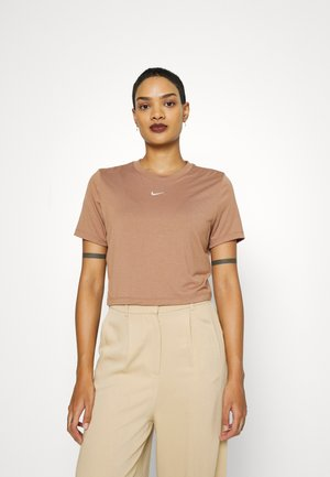TEE - T-shirts med print - brown