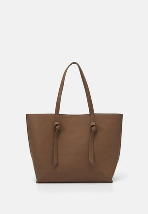 PCGENNY SHOPPER - Tote bag - taupe gray