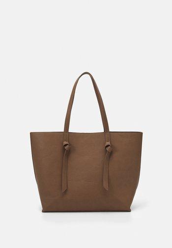 PCGENNY SHOPPER - Tote bag - taupe gray