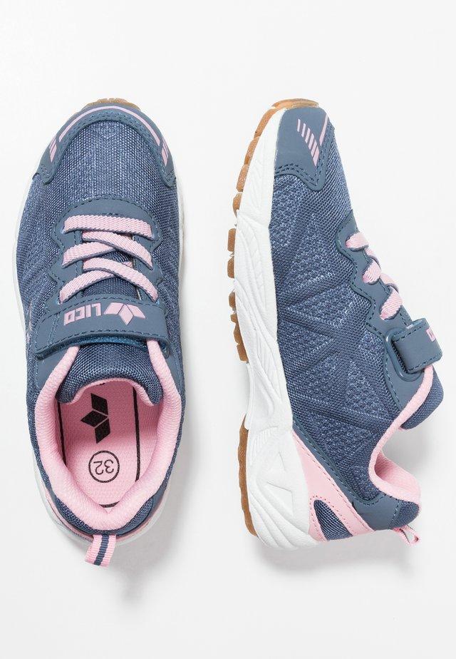 FLORI - Trainers - grau/rosa